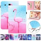 Folio PU Leather Wallet Card Case Cover for Samsung Galaxy Tab 4 A E S7 S6 Lite