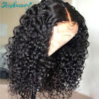 Eva lace Wigs Pre-Plucked Brazilian Human Hair Curly Lace Frontal Wigs