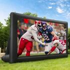 14-20FT Inflatable Blow up Mega Movie Projector Screen Front  Rear Projection