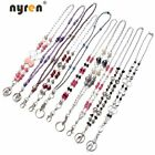 10pcs Multi Office ID Holder Working Lanyard Necklace Keychains Card Holder 8118