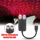 USB Car Interior LED Lights Room Roof Atmosphere Starry Sky Lamp Star Projector