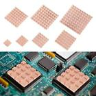 2pcs Pure Copper Heat Sink Adhesive Back Heatsink Cooling for VGA DDR IC Chipset
