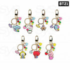 BTS BT21 Official Authentic Goods JELLY CANDY Metal Keyring + Tracking Number