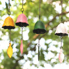 Japanese Bless Small Wind Chimes Cast Iron Lucky Temple Wind Bell Garden Porch