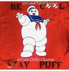 GHOST BUSTERS T-SHIRT GRAPHIC T STAY PUFT MARSHMALLOW UNISEX