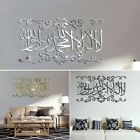 3d Wall Stickers Acrylic Home Decoration 60*34cm Mirror Mural Practical