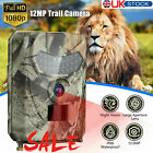 Hunting Wildlife Game Trail Video Outdoor Camera 12MP CMOS 1080P HD IP56 US L2C2