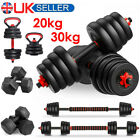 '30kg 50kg Dumbells Pair Of Gym Weights Barbell/dumbbell Body Building Weight Set