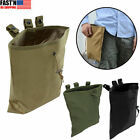 Tactical Mag Dump Pouches Airsoft Paintball Military Recovery Molle Magazine Bag