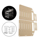 DIY 3.5inch Acrylic Hard Drive Bracket Rack Desk Storage Container for HDD picture