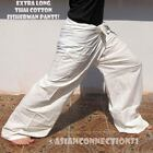 EXTRA LONG Thai Cotton Fisherman Pants Yoga Trousers Many Colors NEW