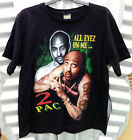 2 PAC 'ALL EYEZ ON ME...' MEN'S BLACK T-SHIRT