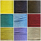 2 METRES 4MM LACING CORD PULL CORD VARIOUS COLOURS
