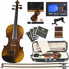 Cecilio CVN-600 1-Pc Back Violin Highly Flamed  4/4 3/4