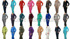 Ladies Velour Tracksuits Lounge Wear Full Suit Jacket Joggers 17 Colours