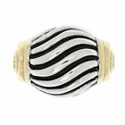 Silver Antiqued Style Filigree Design Ladies Ring