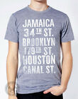 NYC SUBWAY Stop American Apparel TR401 Track T Shirt