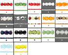 120 Czech Fire Polished Glass Beads 3mm **Opaques, AB & Many Colors Available