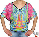 KILLAH BY MISS SIXTY DAMEN TOP PUNK FUNK T-SHIRT (K-TRIBAL) Z60038 GR. XS, S, M