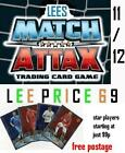 MATCH ATTAX 11/12 CHOOSE FROM ALL 20 STAR PLAYERS