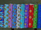 "FUN Wow Wow Wubbzy cartoon 100% cotton fabric from Nickelodeon Jr 1 yd x 44""w"