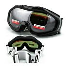 Snow Goggles Winter Ski Boarding Youth Kids Pink White Polycarbonate Dual Lens