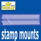 Prinz Stamp Mount Strips - Gard back opening clear backed - per 25