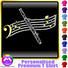 Bassoon Curved Stave - Personalised Music T Shirt 5yrs - 6XL by MusicaliTee