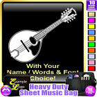 Mandolin A Picture With Your Words - Sheet Music & Accessories Bag MusicaliTee