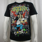 Authentic ANTHRAX Skater Guy Skate T-Shirt S M L XL XXL NEW Official