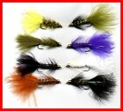 Twelve NEW Bead Head Woolly Bugger Fly Fishing Flies Choose Qty, Color and Size
