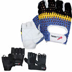 TurnerMAX COW LEATHER Weight lifting gloves Gym Body Building Training fitness