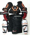 New Jr small equipment pants gloves shin elbow shoulder junior ice hockey set