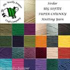 SIRDAR BIG SOFTIE SUPER CHUNKY YARN - various colour options