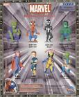8 NEW MARVEL SPIDERMAN X-MAN MINI BOBBLEHEAD CAKE TOPPERS FIGURES YOU PICK ONE
