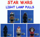 5 NEW LUCAS FILMS STAR WARS MINI BUST FIGURE LIGHT FAN LAMP PULLS YOU PICK ONE!