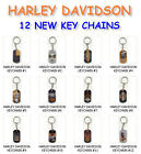 NEW HARLEY-DAVIDSON MOTORCYCLE METAL DOGTAG KEYCHAIN ZIPPER PULL YOU PICK ONE