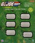 5 NEW RETIRED TOMY HASBRO G.I.JOE METAL DOG TAGS COLLECTION CHAINS YOU PICK ONE