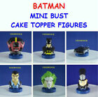 DC COMICS BATMAN DARK KNIGHT MINI BUST FIGURE CAKE TOPPER FAVORS-  YOU PICK ONE!