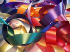 5 YDS Waterproof Flora-Satin Florist Ribbon - Choose From 19 COLORS & 3 Widths