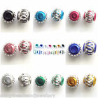Aluminium Beads 6mm  8mm Round Spacer All Sizes & Colours