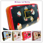 Authentic Ladies Womens LYDC Designer Cupcake Wallet Purse Clutch Bag Gift Boxed