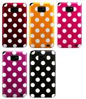 POLKA DOT GEL CASE COVER SKiN POUCH WALLET FOR  Samsung Galaxy S2 i9100