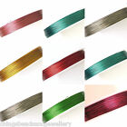 100M Tiger Tail Cords 0.38mm 0.45mm All Size & Colours