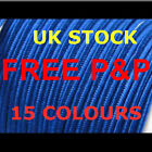 SOUTACHE BRAID 3 MM WIDE 2 METRES 15 LOVELY COLOURS GREAT QUALITY    UK STOCK