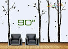 """Wall Art Decor Removable Vinyl Decal Sticker Large Tree Blowing In The Wind 90"""""""