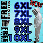 pest free - Pro Full Pest Control Beekeeping Beekeeper Bee Suit with Veil 6-10XL
