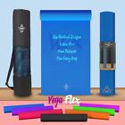 We R Sports Yoga Exercise Fitness Gym Workout Mat Physio Pilates Non Slip 6mm <br/> ◥◤ Latex Free ◥◤ 6mm Thick ◥◤ FREE Yoga Bag ◥◤