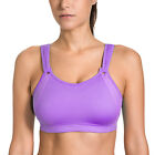 La Isla Women's High Impact Wire Free Non Padded Seam Free Sports Bra