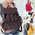 Women Ladys Fashion Korean Style Girl New Leisure Canvas Shoulder Bag Backpack